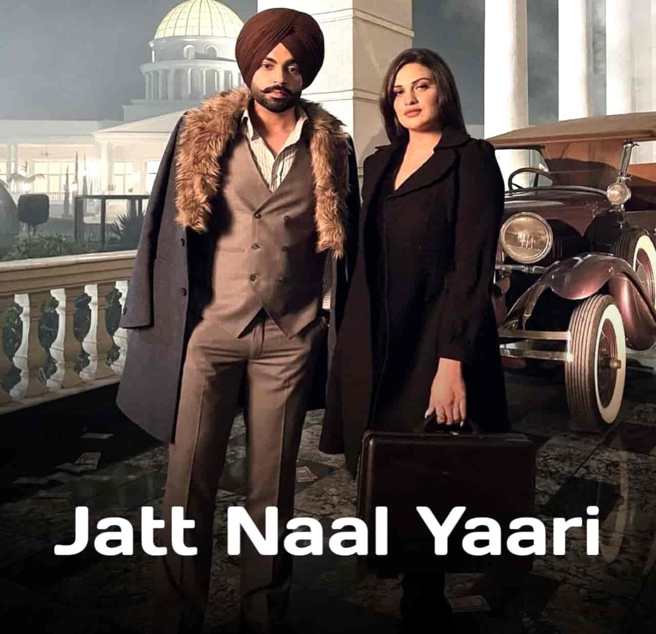JATT NAAL YAARI LYRICS - Jordan Sandhu | Himanshi Khurana