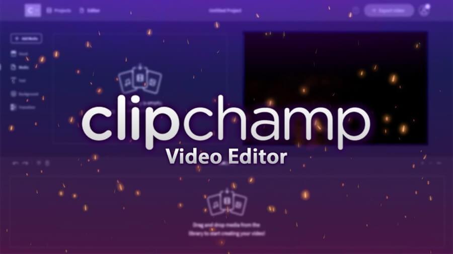 موقع مونتاج فيديو أون لاين مجانا Clipchamp