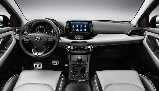 Novo Hyundai i30 2017 - painel