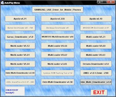 Samsung symbian usb downloader
