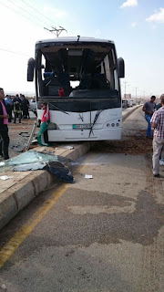 حادث باص شارع البتراء