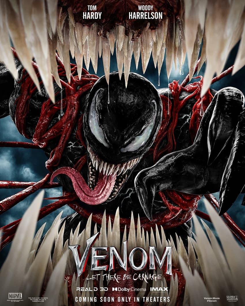 Sony показала первый трейлер кинокомикса «Веном 2» - Постер