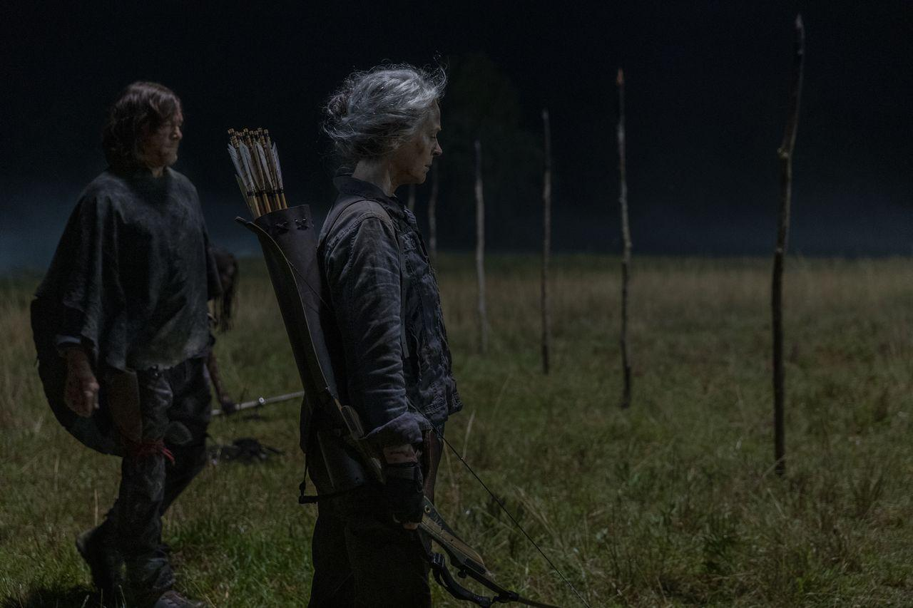 Carol y Daryl, en el episodio 10x03 de The Walking Dead