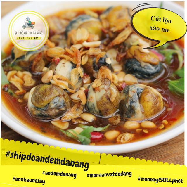 Cut lon xao me - Ship do an Da Nang