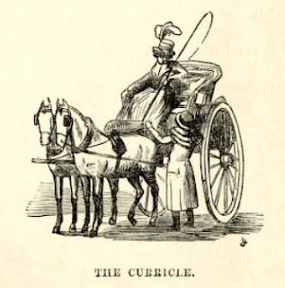 The curricle from The story of the London parks by J Larwood (1874)