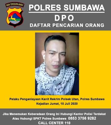 Polisi Buru Penganiayaan Kanit Reskrim Polsek Utan