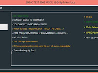 EMMC Test 9008 Mode Tool Qualcomm All Smartphone
