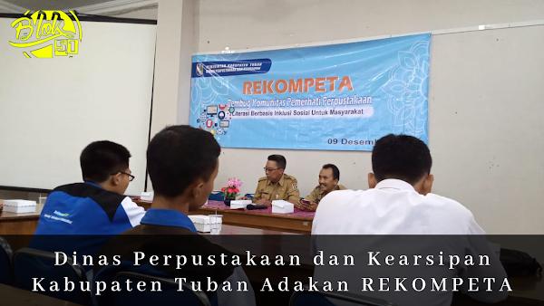 Dinas Perpustakaan dan Kearsipan Kabupaten Tuban Adakan REKOMPETA