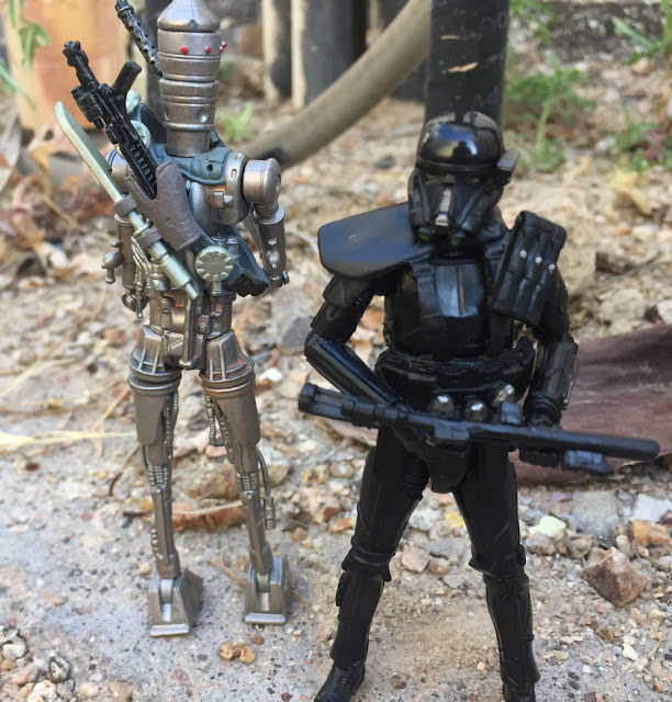 IG-88, Vintage Collection, 2007, Saw Guererra, Rogue 1, Death Trooper, 3.75 Black Series