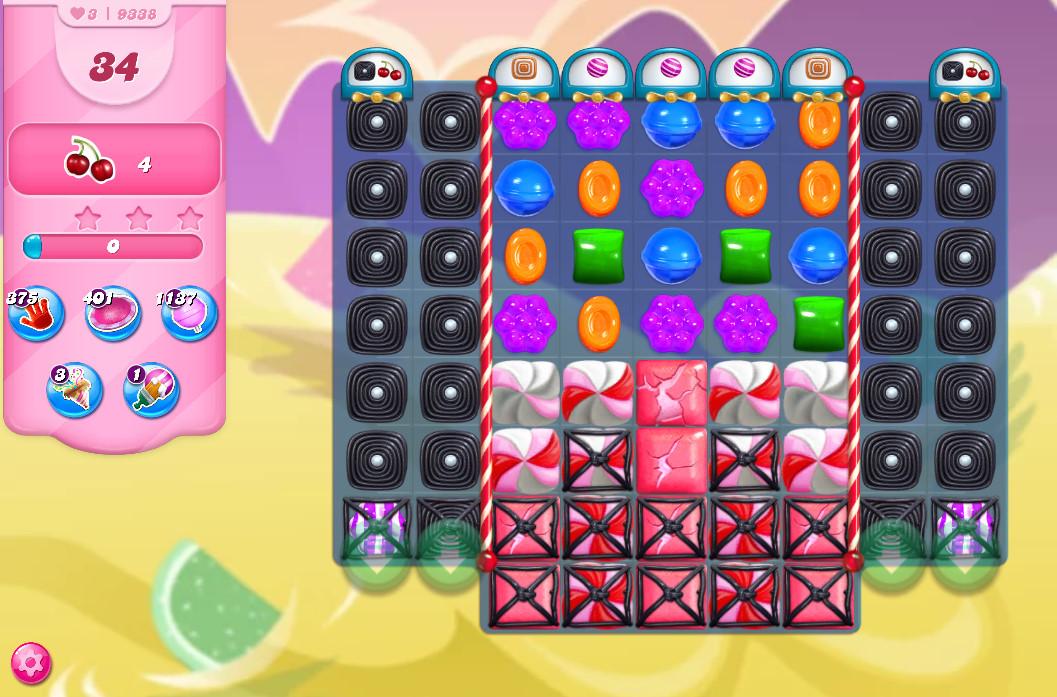 Candy Crush Saga level 9338