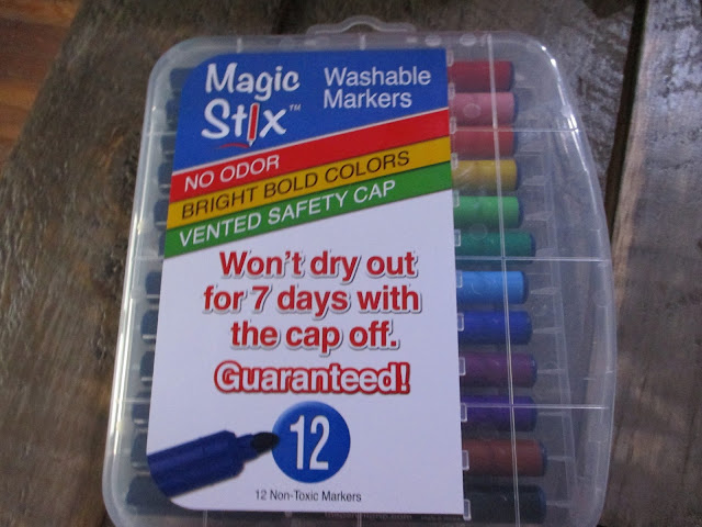 Magic Stix Washable Markers, The Pencil Grip Inc., Giveaway, 7 Day Guarantee