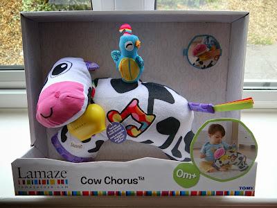 Lamaze baby toys, Lamaze Cow Chorus, baby musical toy