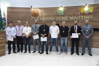 Polícia Civil recebe homenagem da Câmara Municipal de Cajati