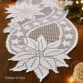 wzory bożonarodzeniowe szydełkiem