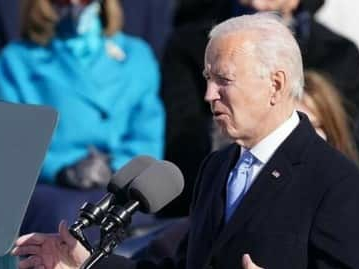After Trump was acquitted, Biden said - Democracy is fragile