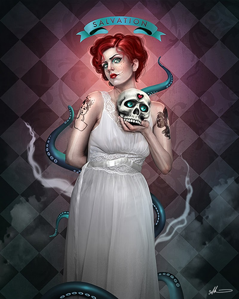 Digital Figurative Art by Aunia Kahn