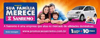 """Promoção: """"Sua família merece Sanremo"""""""