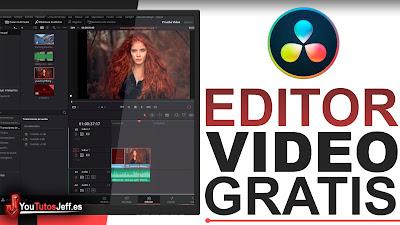 Editor de Vídeo Sin Marca de Agua para PC, Descargar DaVinci Resolve 16 Gratis