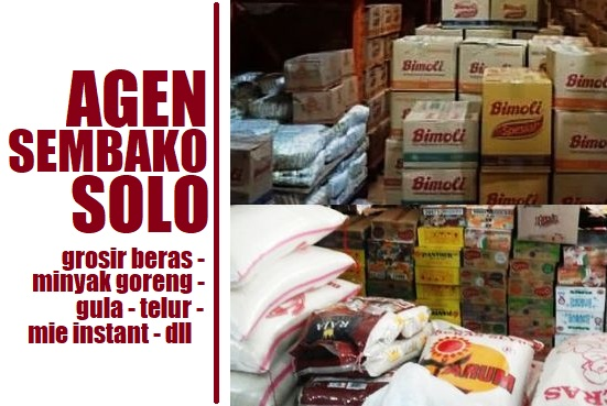 Daftar Agen Sembako Solo Raya