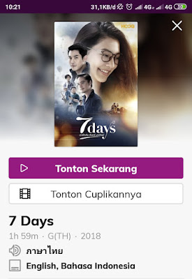 film 7 days thailand