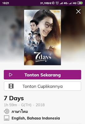 film 7 days thailand