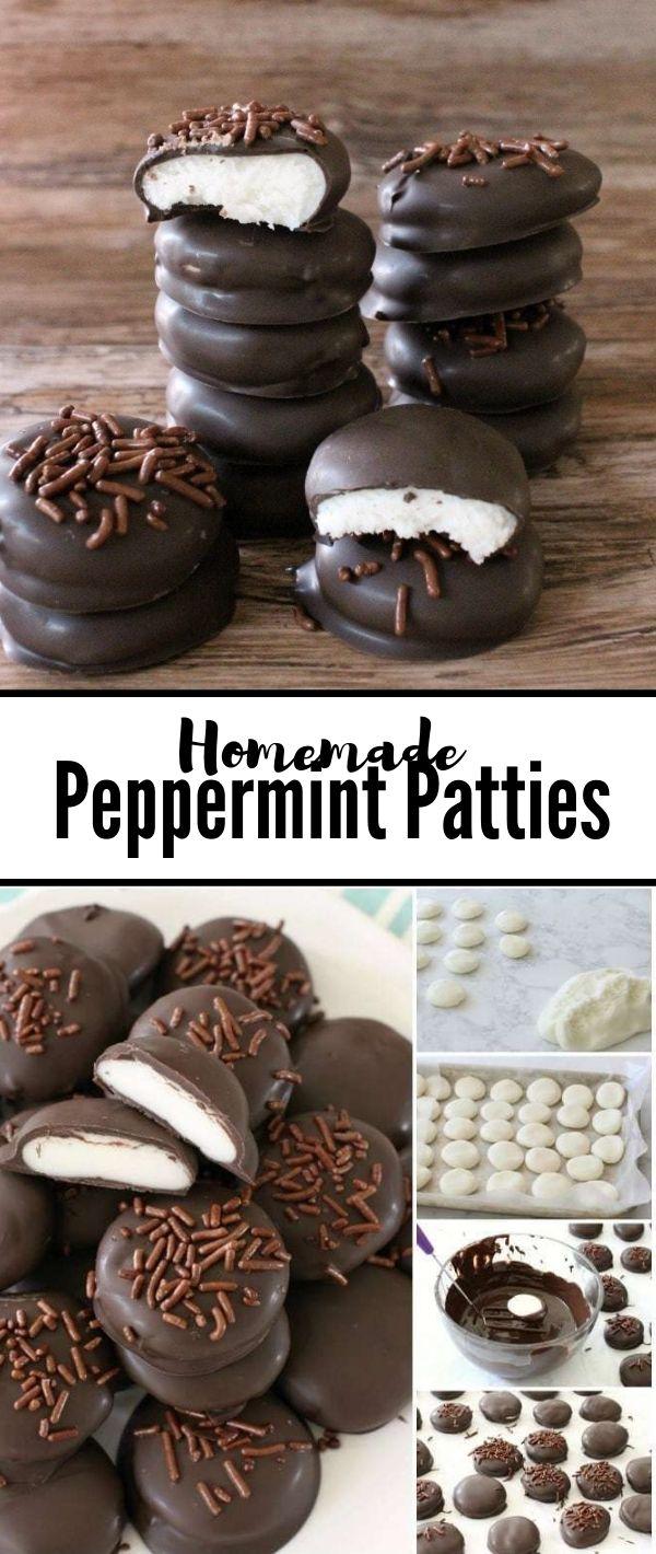 Peppermint Patties Recipe #Peppermint #Patties #Recipe Cake Recipes From Scratch, Cake Recipes Easy, Cake Recipes Pound, Cake Recipes Funfetti,
