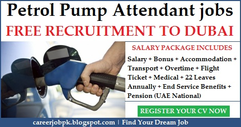 Petrol Pump Attendant jobs in Dubai UAE