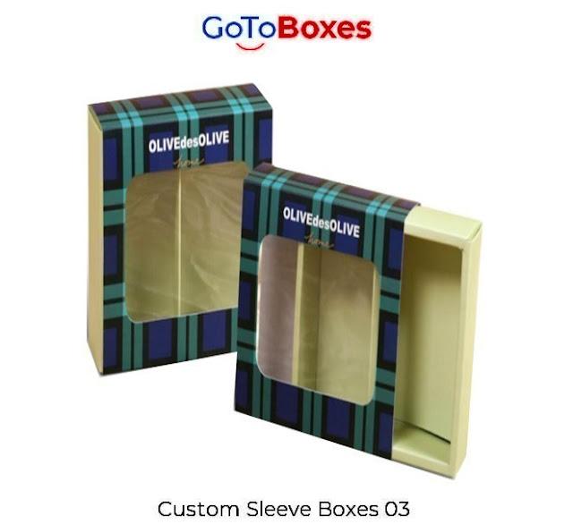 Custom Printed Sleeve Boxes