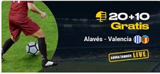 bwin promocion Alaves vs Valencia 6 marzo 2020