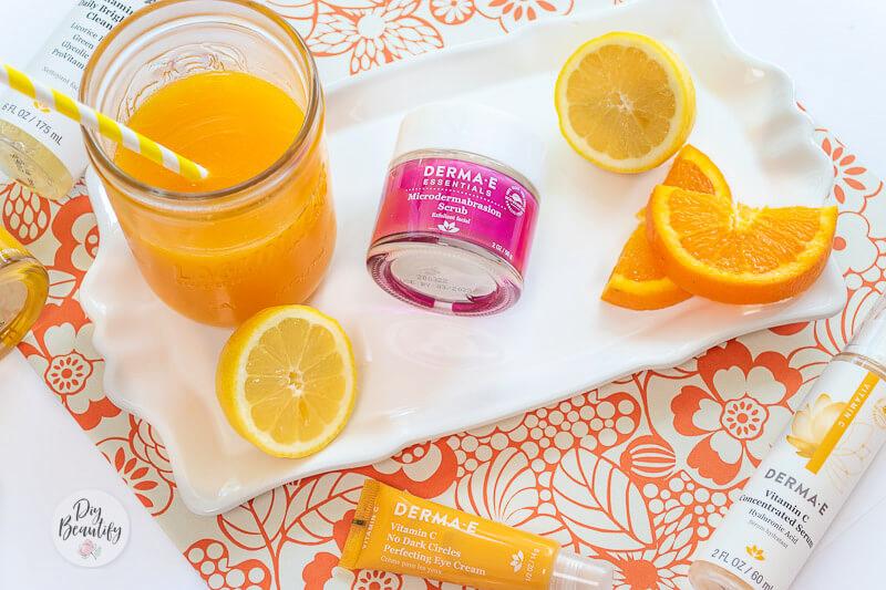 Vitamin C skincare products