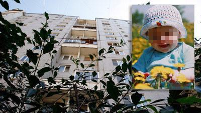 Годовалый ребенок выжил, упав с 9-го этажа