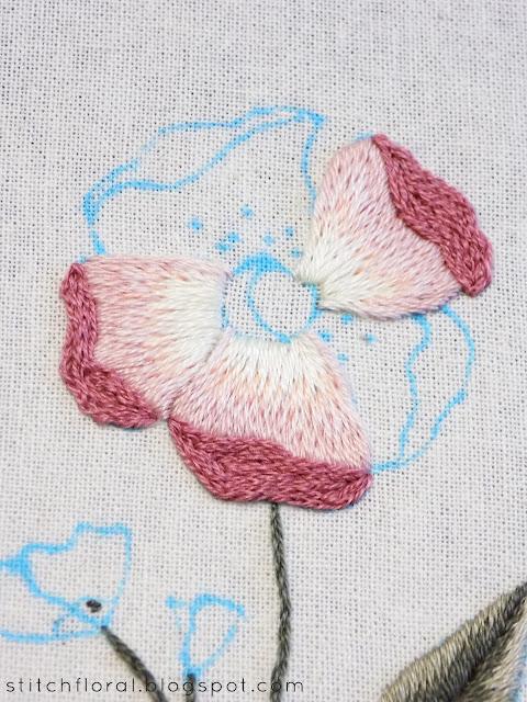 Cecelia Rose Stitch Along: Part 2