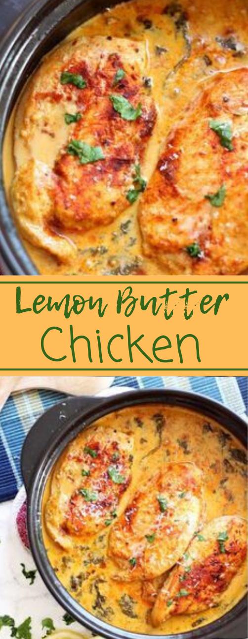 Lemon Butter Chicken #chicken #dinner #healthyrecipes #food #butterlemon