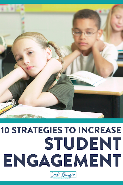 Grab these strategies, activities, and ideas to increase student engagement in your elementary classroom during all content areas, including math. This Clutter-Free Classroom blog post was written for first, second, third, fourth, and fifth grade teachers. Check it out now! #classroommanagementstrategies #teachingstrategies #elementaryclassroom