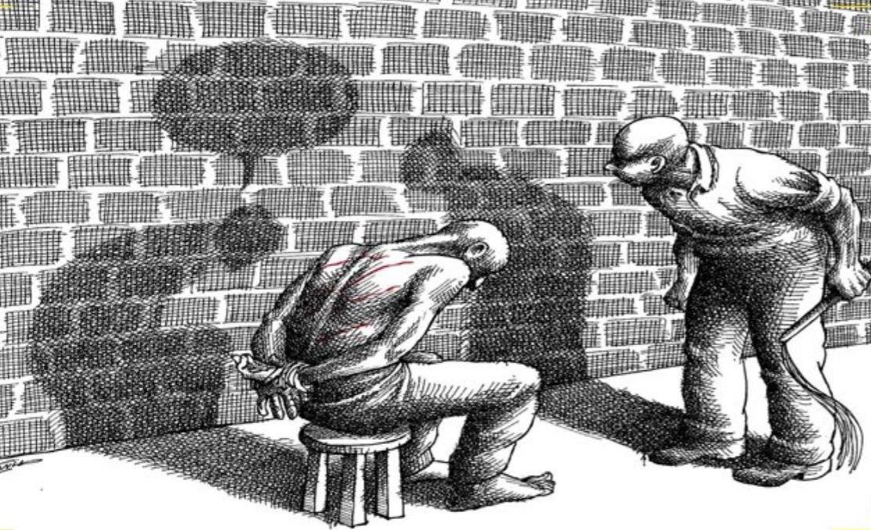 صورة تعبر عن ما حصل من أحداث في تجربة سجن جامعة ستانفورد