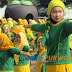 Senam Fatayat  NU,  Di Alun - alun Purworejo,  Diikuti Ribuan Peserta