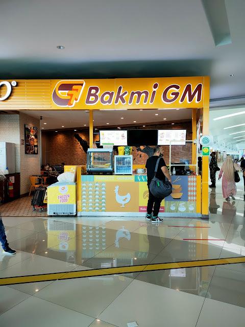 Bakmi GM di terminal 3 Soekarno Hatta