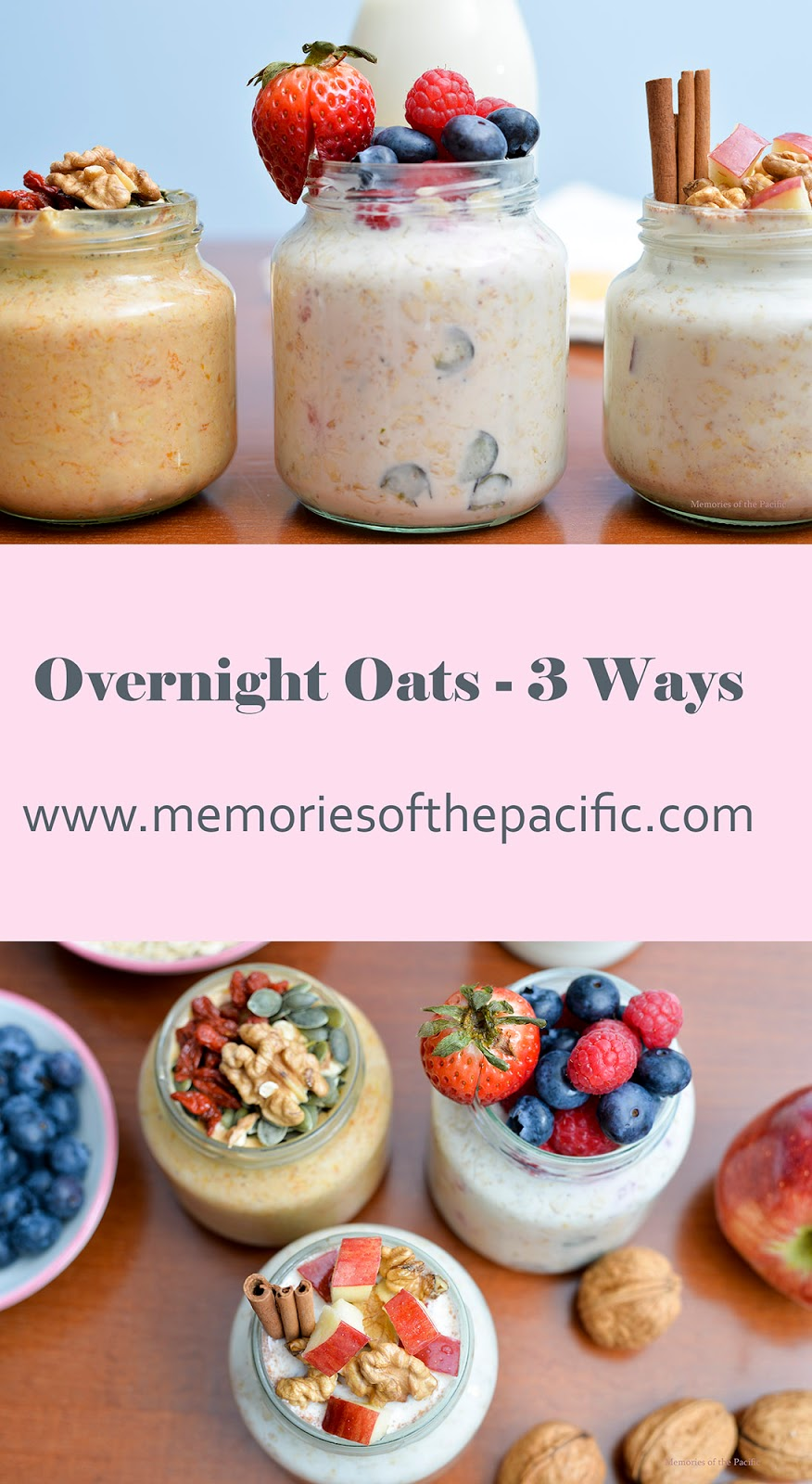 overnight oats oatmeal breakfast take-away mason jar