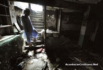 Búnker subterráneo donde vivía secta islámica