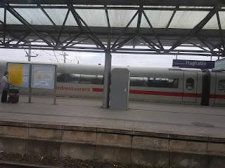 Dusseldorf in treno