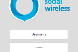 Social Wireless Template Hotspot Mikrotik Responsive