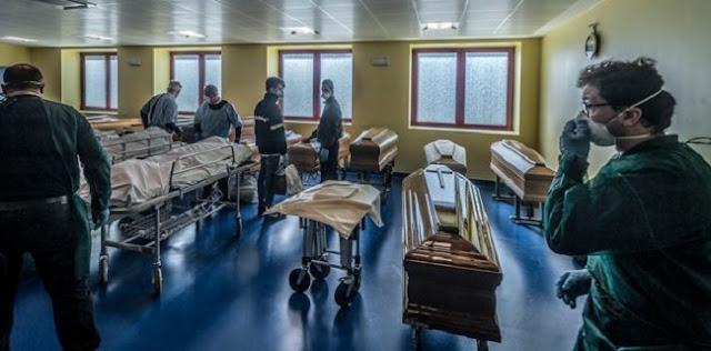 Italia Lampaui Angka Kematian China, 427 Korban Jiwa Dalam Sehari