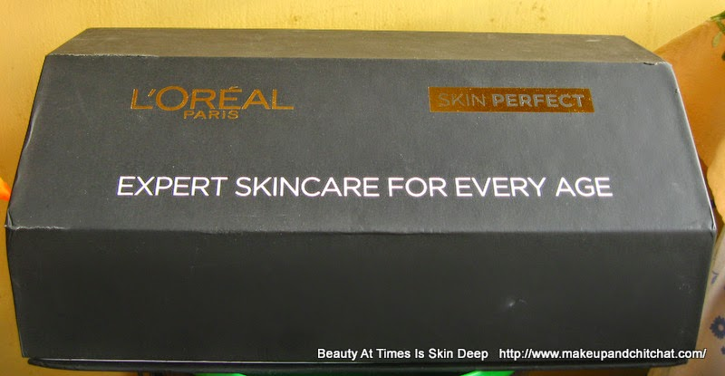 Photo and price of L'Oreal skin perfect skin care range