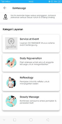review GoMassage, GoMassage, pijat reflexy, body massage