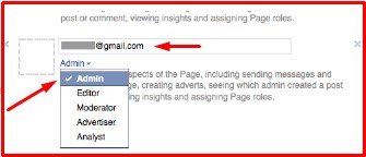 how do i add admin on facebook