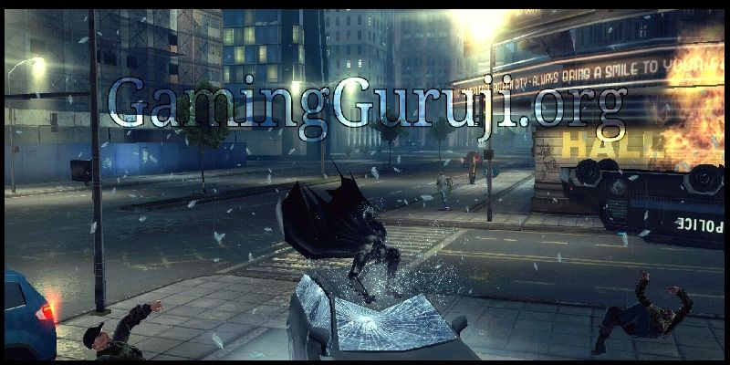 The Dark Knight Rises game screenshot