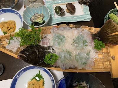 高島旅館 夕食その2