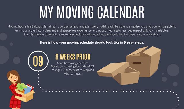 My Moving Calendar