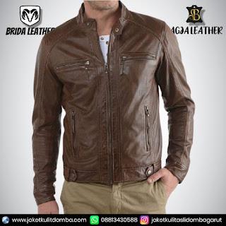 jaket kulit harga
