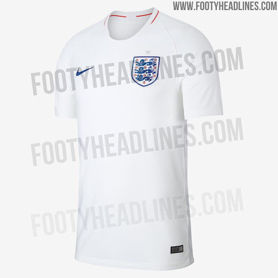 86a638bff8a England 2018 World Cup Kit. This image shows the Nike England 2018 home  jersey. +1. 2 of 2. 1 of 2